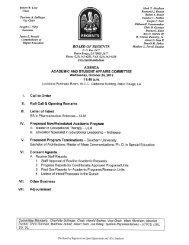 Robert W. Levy Chair Charlotte A. Bollinger Vice Chair Joseph C ...