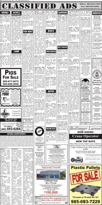Bollinger Larose - The Lafourche Gazette