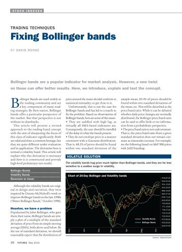 Bollinger bands tips