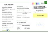 Dr. med. Nicole Gerling Lichttherapie - Facharztpraxis Dr. med ...