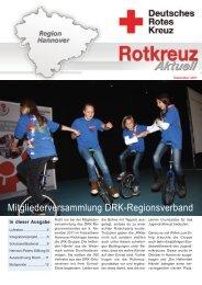 Mitgliederversammlung DRK-Regionsverband - Deutsches Rotes ...