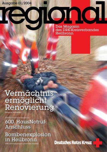Regional 01/2004 - DRK-Kreisverband Heilbronn
