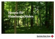 Hospiz für Hamburgs Süden - DRK Hamburg-Harburg