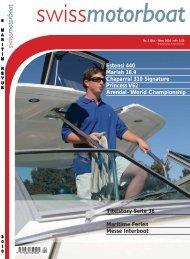Titelstory Seite 36 Maritime Ferien Messe ... - Swiss Motor Boat