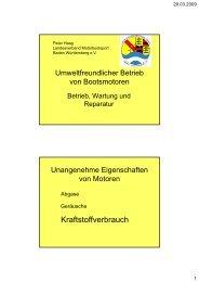 Abgase von Ottomotoren - Landesverband Motorbootsport Baden ...