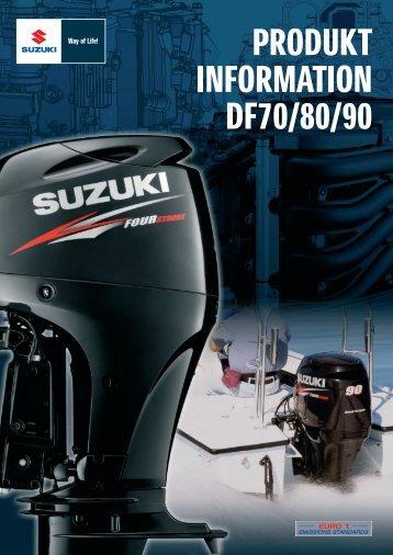 DF 70 80 90 A (PDF) - Suzuki Marine