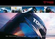 Katalog TOHATSU - Wassersportzentrum Cottbus