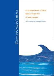 Grundlagenuntersuchung Wassertourismus in ... - IKZM-D Lernen