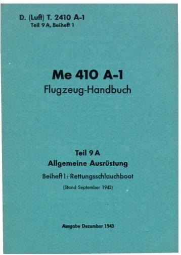 Me 410 A-1 - AVIA