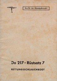 Do-217 Rustsatz 7 - AVIA