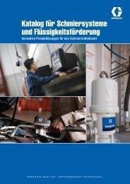 Broschüre Lubrication Equipment - Graco