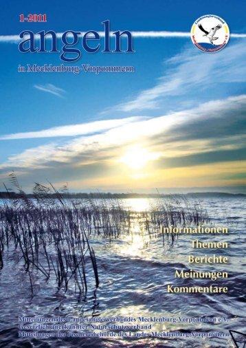 Ausgabe 1-2011 - Landesanglerverband Mecklenburg-Vorpommern ...