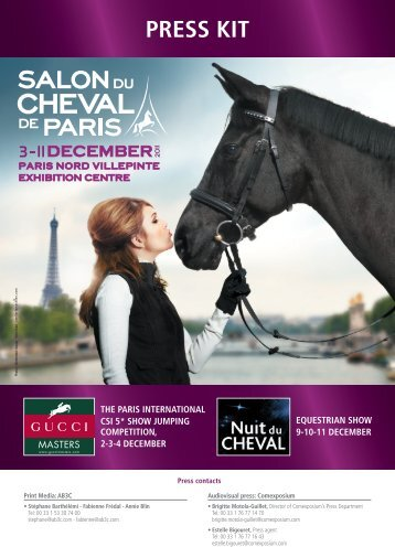 Download the 2011 Press Kit - Salon du Cheval de Paris 2012