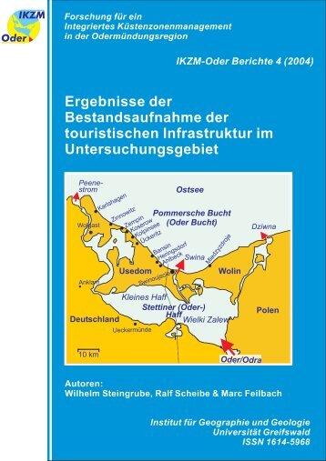 Ergebnisse der Bestandsaufnahme der touristischen Infrastruktur im ...