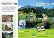Sommercard - Hotel Post in Schladming