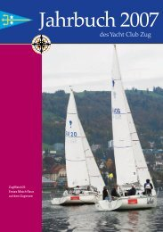 Bootsregister - Yacht Club Zug