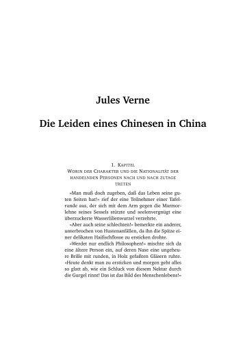 Jules Verne Die Leiden eines Chinesen in China