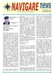 Navigare News 23 November 2005 - Seglergemeinschaft