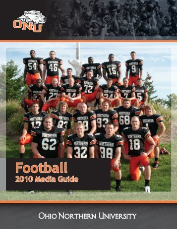2010 Football Media Guide - Ohio Northern University