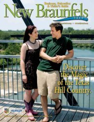 NB Cham Guide 09 Guide - New Braunfels Chamber of Commerce