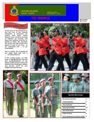 Second Issue of CICC Chronicle - cicadetcorps
