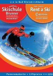 Rent a Ski - Bad Kleinkirchheim