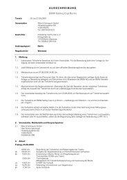 Ausschreibung herunterladen - Riller & Schnauck GmbH
