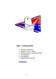 Opti – Training 2010 - Hispeed.ch
