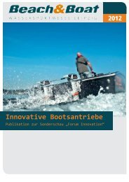 Innovative Bootsantriebe - Internationale Bootsexperten