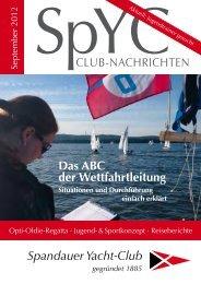 Premium Auto- & Bootspflege - Spandauer Yacht-Club Berlin e.V.
