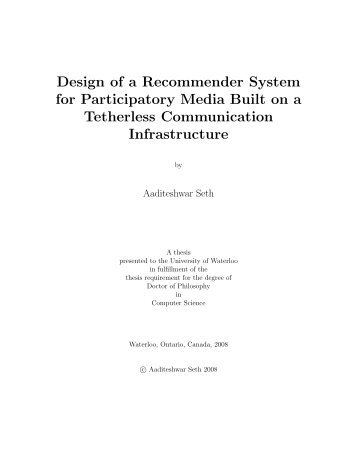 UW PhD Thesis - Computer Science and Engineering