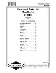 Illustrated Parts List 216700 - eReplacementParts.com