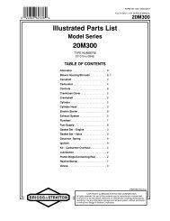 Illustrated Parts List 20M300 - eReplacementParts.com