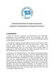 Rudern bei Eis - Deutscher Ruder-Club von 1884 e.V. - Hannover