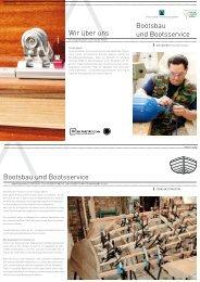 Bootsbau und Bootsservice Wir über uns Bootsbau und ... - USE
