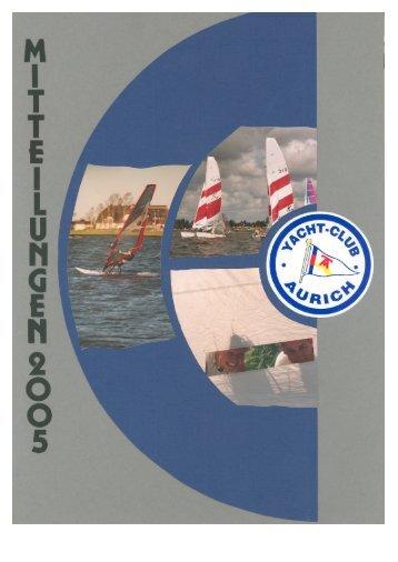 Termine 2005 - Yacht Club Aurich