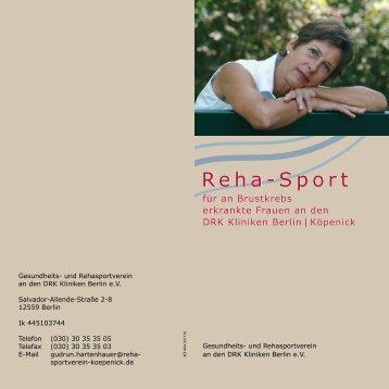 Reha-Sport - DRK Kliniken Berlin