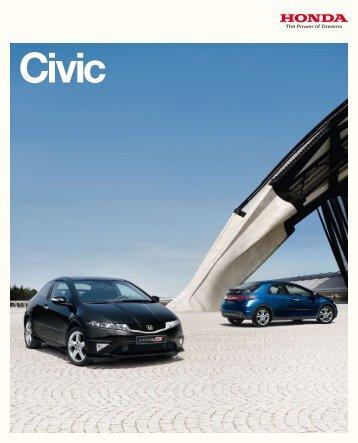 Honda Civic Prospekt - Auto Havelka