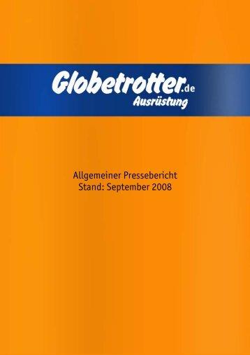 Allgemeiner Pressebericht Stand: September 2008 - Globetrotter