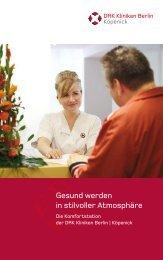 Die Komfortstation der DRK Kliniken Berlin | Köpenick