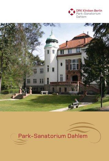 Park-Sanatorium Dahlem - DRK Kliniken Berlin