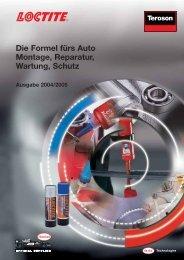 Die Formel fürs Auto Montage, Reparatur, Wartung, Schutz - Akd Tools