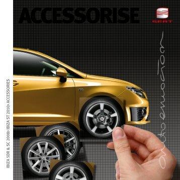 Accessorise - SEAT Tax Free Sales