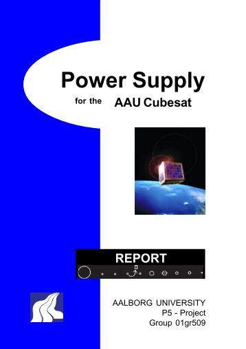 Power Supply AAU Cubesat
