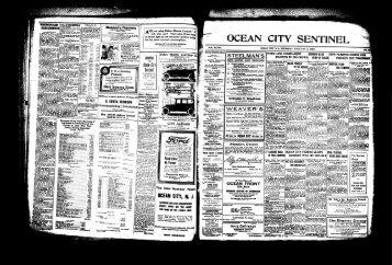 l^^^ssEzssxisz^ - On-Line Newspaper Archives of Ocean City