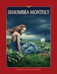 July 2012 Shaumbra Monthly - Crimson Circle