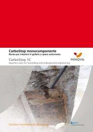 CarboStop monocomponente CarboStop 1C - Minova-ct