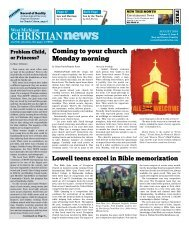 West Michigan Christian News