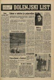 10. november 1966 (št. 867) - Dolenjski list