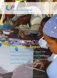 to download PDF of Global Potential - here
